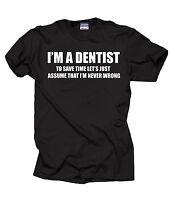Dentist T-Shirt Gift For Dentist Profession DDS Tee Shirt
