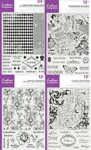 """Crafters Companion - Large Background Photopolymer Stamp - 8"""" x 8"""""""