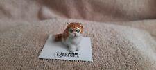 """Little Critterz Cat Persian Kitten """"Princess"""" Miniature Figurine New Lc905"""