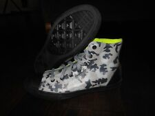 CONVERSE CTAS RUBBER HI 651681C Shoes Size 5 US Junior 37.5 EUR Camo/Black/Gray