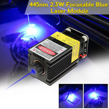 445nm 2.3W 2300mW Blue Laser Module With TTL/PWM For DIY Laser Cutter Engraver