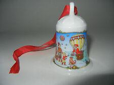 Hutschenreuther Weihnachtsglocke Porz. 2000 Thule (meine Art. 2000-3)