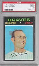 1971 Topps Baseball Ron Herbel #387 Graded PSA 9
