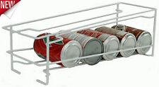 Soda Can Beverage Dispenser Rack Storage Organizer Holds 12 Cans Holder Kitchen