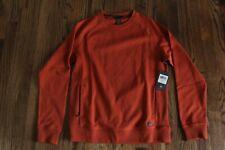 52 Mountain Hardwear Firetower Long Sleeve Crew Sweater Copper Orange Mens Small