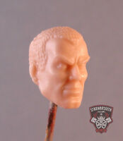 "MH331 Custom Cast Male head for use with 3.75"" GI Joe Star Wars Marvel figures"