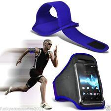 Étuis, housses et coques brassards bleus Universel pour téléphone mobile et assistant personnel (PDA)