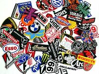 Racing Biker Embroidered Iron On Patch Wholesale Motorcycle car Random Lot 30