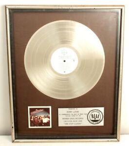 ORIGINAl DOOBIE BROTHERS PLATINUM RECORD awarded for Album ONE STEP CLOSER Rare