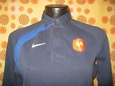 Ancien MAILLOT NIKE EQUIPE DE FRANCE DE RUGBY A XV FFR T10-12a Jersey Shirt