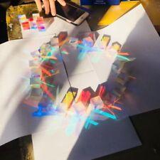 6 PCS 2.5cm Defective Cross Dichroic Cube RGB X-cube Optical Prism