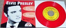 Elvis Unplayed Mint Sun 45 & Picture Sleeve Milkcow Blues Boogie  Red Vinyl
