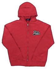 Polo Ralph Lauren 'Polo Football' Fleece-Lining Zip Up Hoodie Red Size L NWT