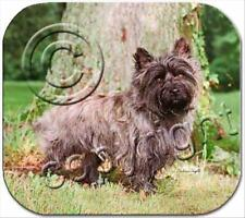 Cairn Terrier Brindle Dog Computer Mouse Pad Mousepad