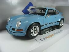 PORSCHE 911 2.8 RSR 1974 1/18 SOLIDO (CIVIL BLUE)