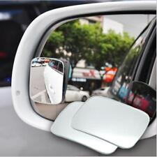 Adjustable Car Mirror Blind Spot Side Rear View Convex Wide Angle Parking White