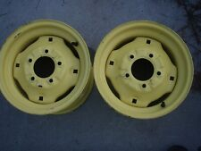 JOHN DEERE 425 445 455 AWS All Wheel steer rear rims AM113145  Free shipping #1A