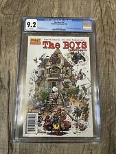 The Boys 24 Sketch variant CGC graded 9.2 1st G-Wiz The Boys Spin-off Show!!