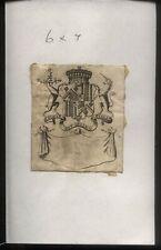 More details for 18th - 19th century ex libris book plate - bonne et belle assez
