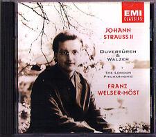 Franz WELSER-MÖST: Johann STRAUSS Die Fledermaus Künsterleben Kaiser-Walzer CD