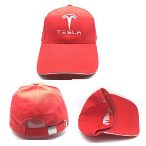 HAT CAP Tesla Logo Adjustable Baseball Cap Snapback Hat Cap