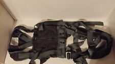 NAVAL AIR SYSTEMS 814AS400-1 MEDIUM PERSONNEL PARACHUTE HARNESS TORSO MILITARY