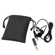 External Pro Clip-on Lapel Lavalier Microphone For iPhone SmartPhone Recording