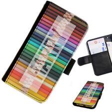 Fundas con tapa color principal multicolor para teléfonos móviles y PDAs