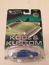 Hot Wheels Kool & Kustoms Blue Pontiac GTO 1:64 Scale,MISP (B37)