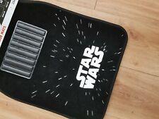 Star Wars Darth light speed Car Mats new black Disney