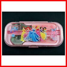 RARE Princess Snow White Belle Cinderella Chopsticks Spoon Folk Tableware SET