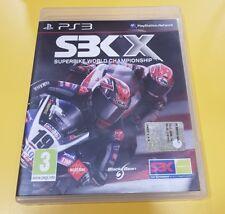 SBK X Superbike World Championship GIOCO PS3 VERSIONE ITALIANA