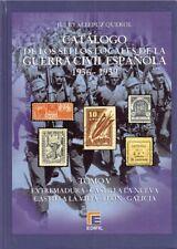 Edifil Spanje Burgeroorlog V catalogue Spain Spanien Guerra Civil War 1936-1939