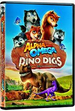 NEW DVD - ALPHA & OMEGA - DINO DIGS -  CHILDREN & FAMILY FEATURE - ENG & FRENCH