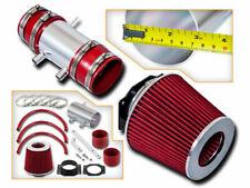 Short Ram Air Intake Kit + RED Filter for 99-04 Nissan Frontier/Xterra 3.3L V6