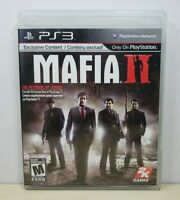 Mafia II - Sony PlayStation 3, 2010 - Complete & Tested