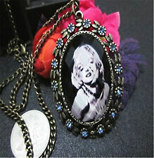 Vintage Retro Antique Style Marilyn Monroe Necklace