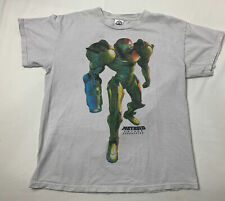 VTG Nintendo Metroid Prime Corruption Samus T Shirt Wii Video Game Promo Size M