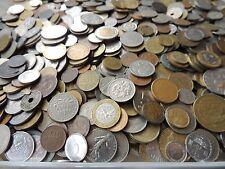 Lote a granel/colección de monedas del mundo - 200 gramos/mínimo 40 monedas-bin