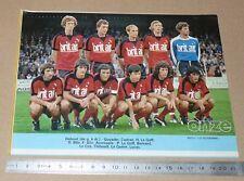 CLIPPING POSTER FOOTBALL 1980-1981 D2 EN AVANT GUINGAMP EAG ROUDOUROU
