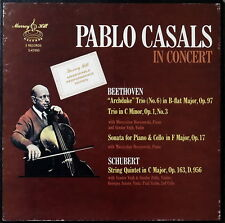 PABLO CASALS / Beethoven Archduke Trio, Cello Sonata / Myrray Hill S-47593 3LP