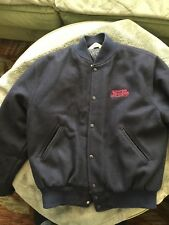 Pepsi Embroidered Wool Jacket Blue Size XL
