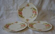 3 x Duchess - 'Peach Rose' - 494 - Dessert / Salad Plates (21cm)