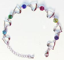 Swarovski Elements Crystal Bracelets Multi-colored