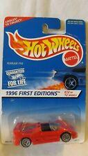 1996 First Edition Hotwheels Ferrari F50 12/12 Card # 377 Malaysia Base