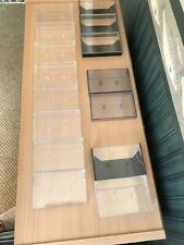 Empty Audio Cassette Cases (13) Used