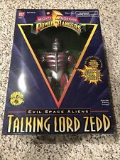 1995 Talking Power Rangers Lord Zedd Evil Space Aliens Bandai. NRFB!!