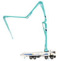 """KDW 1:55 Scale 22"""" Diecast Concrete Pump Truck Construction Vehicle Car Toy"""