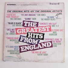 33T GREATEST HITS FROM ENGLAND Vinyle LP MORRISON KING ZOMBIES THEM LOS BRAVOS
