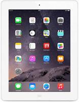 Apple iPad 4th Gen Retina 16GB Wi-Fi 9.7in - White - (MD513LL/A)